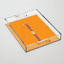 The Smart Project Acrylic Tray