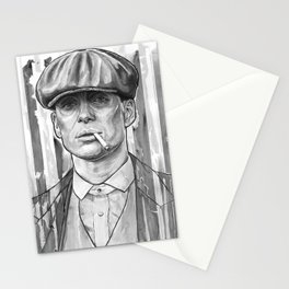 Tommy Shelby, Peaky Blinders by Nicky Anthony Stationery Cards