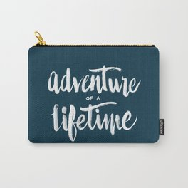 Adventure of a Lifetime - Navy Carry-All Pouch