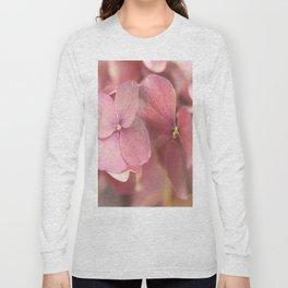 Hortensia Flower Pink Hydrangea #decor #society6 #buyart Long Sleeve T-shirt