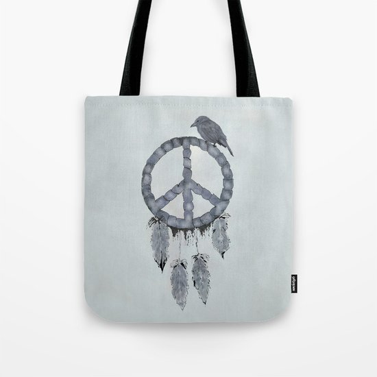 A dreamcatcher for peace Tote Bag