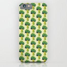 broccoli simple pattern iPhone Case