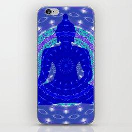 Blue Medicine Buddha Mandala iPhone Skin