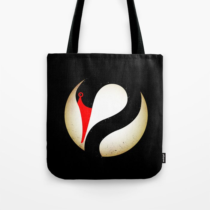 Black Swan Logo Tote Bag