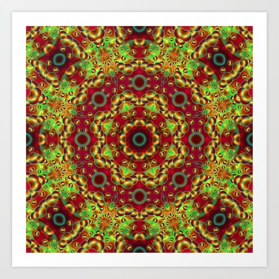 Psychedelic Visions G33 Art Print