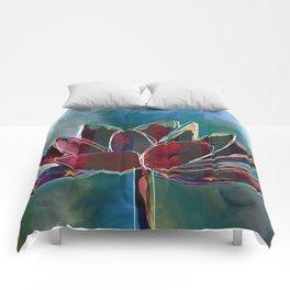 Fire Lutus Comforters