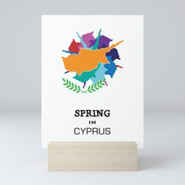 SPRING IN CYPRUS Mini Art Print