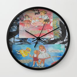 Dollies-Unisex World Wall Clock