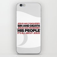 easter iPhone & iPod Skins featuring Easter by Trey VanCamp