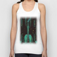 breathing music tonight Unisex Tank Top
