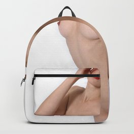 Sexy nude girl pussy tits naked lesbian hot Backpack
