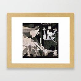 GUERNICA #2 - PABLO PICASSO Framed Art Print