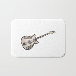 Hollow Body Guitar Bath Mat