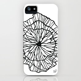 Coral Deco iPhone Case