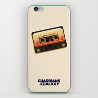 guardians of the galaxy iPhone & iPod Skins featuring GUARDIANS OF THE GALAXY by Anthony Morell