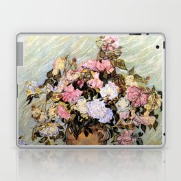 Vincent Van Gogh Vase With Roses Laptop & iPad Skin