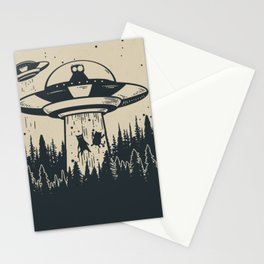 Unidentified Feline Object Stationery Cards