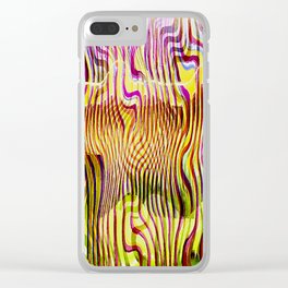 Abstracto Cientico Clear iPhone Case