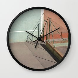 Divided Shadows Wall Clock