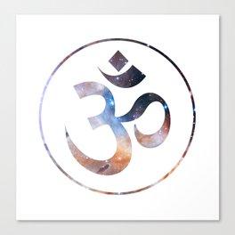 Om stars symbol Canvas Print