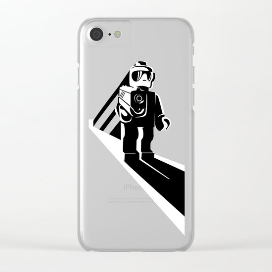 Legophobie Clear iPhone Case