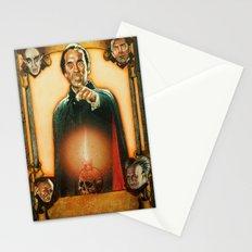 Vampire dracula Stationery Cards