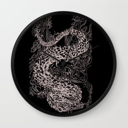 A Dragon from your Subconscious Mind Wall Clock