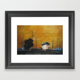 The Hobart Station Framed Art Print