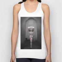 nurse Tank Tops featuring Nurse Insane by Rez Designs