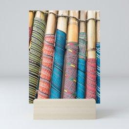 Text(ile)-ing in Sapa, Viet Nam Mini Art Print