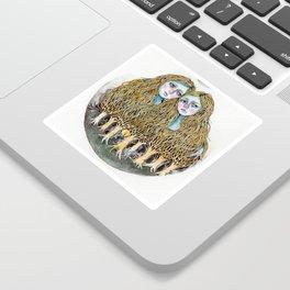 Goblin Market - illustration of poem by Christina Rossetti Sticker