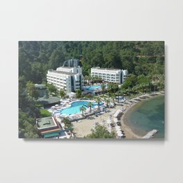 Hotel Turunc Metal Print