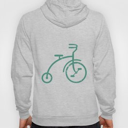 Grunge bicycle Hoody