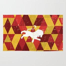 Gryffindor House Pattern Rug