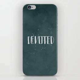 Devoted Themselves iPhone Skin