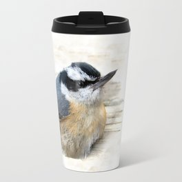 Red-breasted Nuthatch Travel Mug