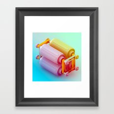 Band together Framed Art Print