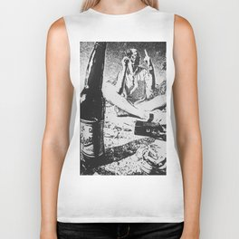 Hunter S. On the Beach Biker Tank