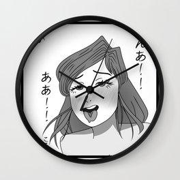 Ahegao 1 Wall Clock