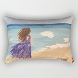 Royal Beach Walk Rectangular Pillow
