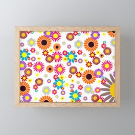 flowers decoration  Framed Mini Art Print