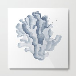 Blue Coral Metal Print