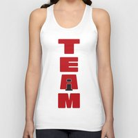 team fortress Tank Tops featuring TEAM by Steel Graphics