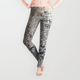 Sparkling GOLD Lady Glitter #6 #decor #art #society6 Leggings