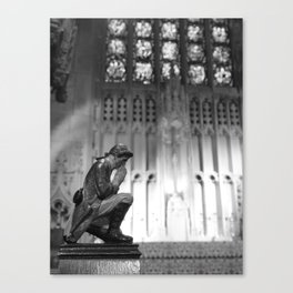 VIEW FROM a PEW Canvas Print