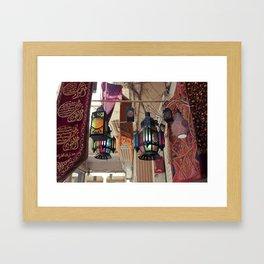 Arabian Lanterns  Framed Art Print