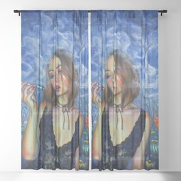 Opium Sheer Curtain