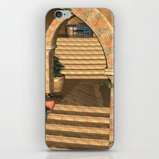 Old Town Stairs and Arches iPhone & iPod Skin