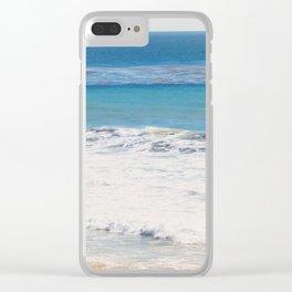 Malibu Blues Clear iPhone Case