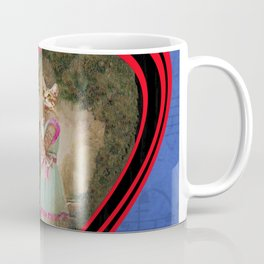 """Chats amoureux 1900, la partition"" / ""Lovers cats 900, the partition"" Coffee Mug"